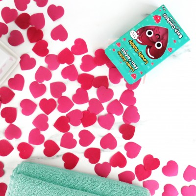 Lovely Jubbly Heart Bath Confetti