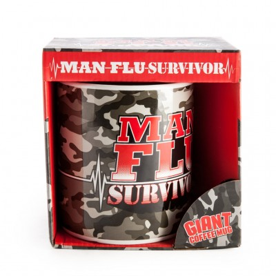Man Flu Survivor - Giant Mug