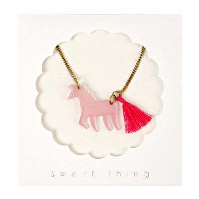 Meri Meri Sweet Thing Unicorn Necklace