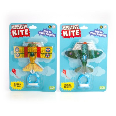 World's Smallest Kite - Fighter Plane