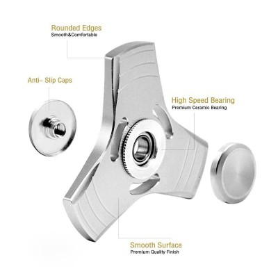 Fidget Trick Spinner - Aluminium Mini