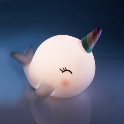 Narwhal LED Night Light - Magical Unicorn