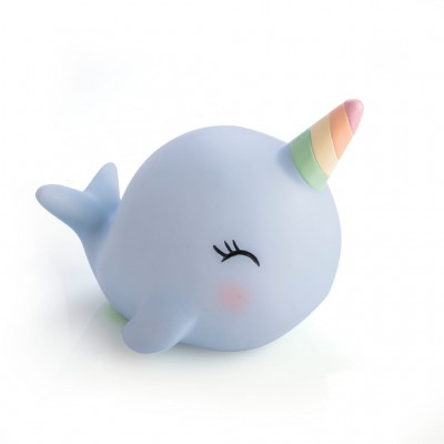 Narwhal Magic Unicorn Night Light