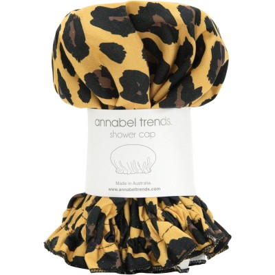 Leopard Print Aussie Made Shower Cap