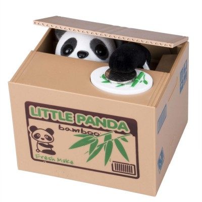 Funny Coin Stealing Panda Money Bank