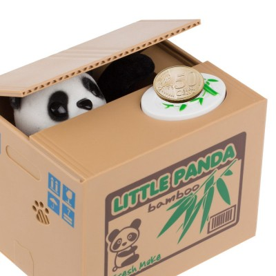 Itazura Coin Stealing Panda Money Box