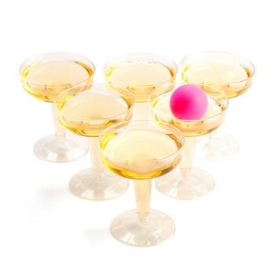 Prosecco Pong - 6 glasses + 12 balls