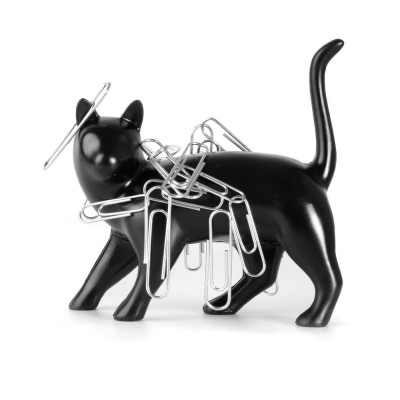 Pussy Magnet Paperclip Holder