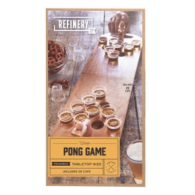 Wooden Tabletop Beer Pong