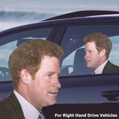 Ride with Harry Car Window Sticker