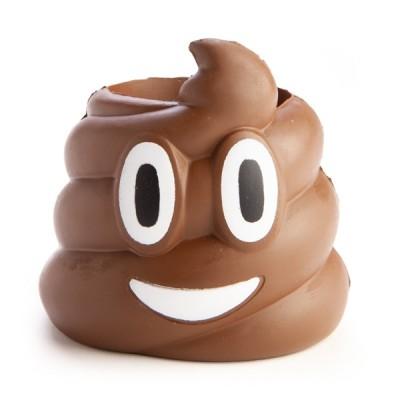 Koolface Smiling Poo Stubby Cooler