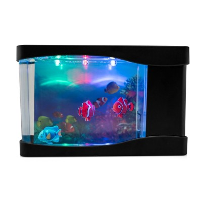 Sea Life Mini Fish Aquarium Lamp
