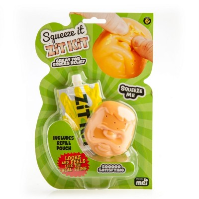 Squeeze It Squishy Toy Zit Kit