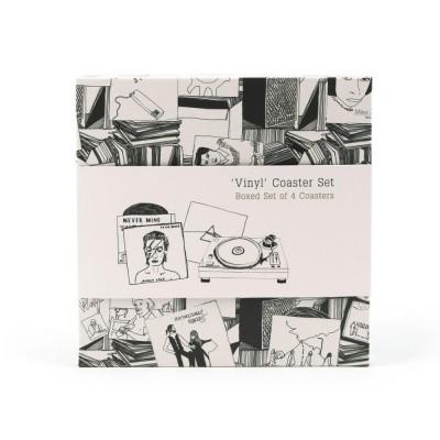 Vinyl Coaster Set