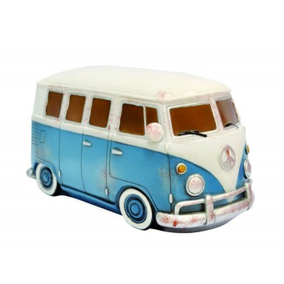 Retro VW Kombi Table Lamp - Blue
