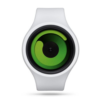 Ziiiro Gravity Watch | Snow / Green +