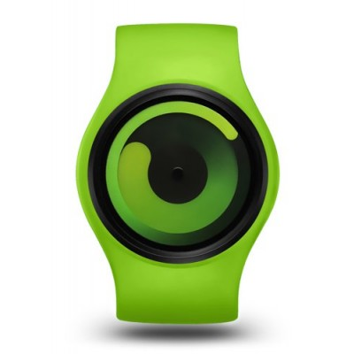 Ziiiro Gravity Watch | Green - Green